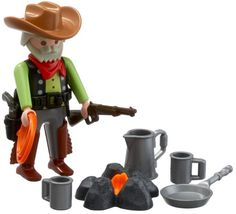$13.99 Playmobil Western Cowboy  From PLAYMOBIL®   Get it here: http://astore.amazon.com/toys4kids09-20/detail/B000M4SGCI/179-1805376-5196436