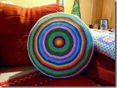 Excellent Absolutely Free Crochet pillow round Tips Crochet pillow round # crochet pillow – Baby Decke Stricken – Knitting Crochet Cushions, Crochet Pillow, Baby Blanket Crochet, Crochet Baby, Free Crochet, Baby Knitting Patterns, Crochet Patterns, Crochet Instructions, Knitted Headband