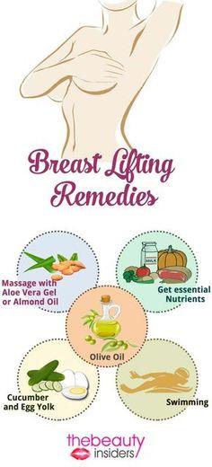 Breast Lifting Remedies