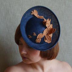 AURORA saucer hat by Rubina Millinery