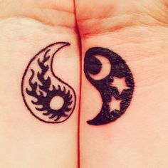 1000 images about yin yang on pinterest yin yang yin for Yin yang couples tattoos