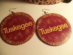 HBCU...Tuskegee University Wood by JAZZLESbyHEATHER on Etsy, $11.00