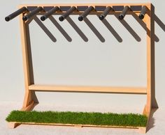 Grassy 7 self standing surfboard rack