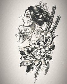 Asian Tattoos, Black Ink Tattoos, Mini Tattoos, Body Art Tattoos, Cool Tattoos, Japanese Tattoo Art, Japanese Tattoo Designs, Arm Tattoo, Sleeve Tattoos