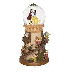 Snow White & Prince Dancing Pedestal Snowglobe   Shop home, interior_design  Kaboodle