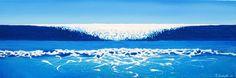 """""""Falling Sea"""" by Jaison Cianelli http://www.cianellistudios.com"""