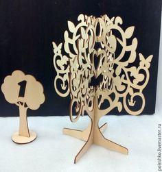 Мебель ручной работы. Дерево-подставка для украшений. Водолей. Ярмарка Мастеров. Заготовка из фанеры