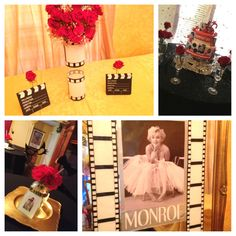 old+hollywood+glamour+party+ideas | On the Budget: Old Hollywood Glamour