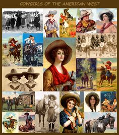 Cowgirls of the American West