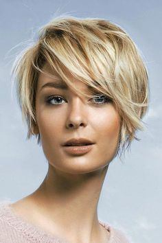 Side-Swept Pixie - The Most Popular Short Hairstyles on Pinterest - Photos