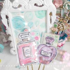 «Diy Shaker paperclips @gypsyblue13_liza look what I made with your happy mail…