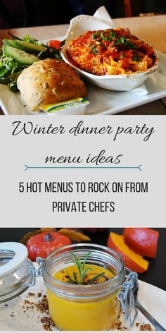 Winter Dinner Party Menu Ideas: 5 Hot Menus to Rock on From Private Chefs  Click here to read more and get inspire >>>