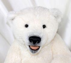 David One of A Kind White Alpaca Polar Bear by Artist Monika Stein Stein Baeren   eBay