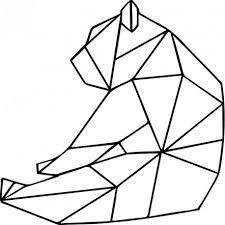 """Résultat de recherche d'images pour """"ours assis origami"""""""