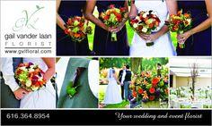 Gail Vander Laan, Florist  grandrapidsbride.com