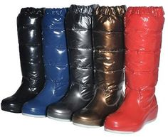 Moncler water proof snow boots for women (by Nacy Jian) http://lookbook.nu/look/4167828-Moncler-water-proof-snow-boots-for-women