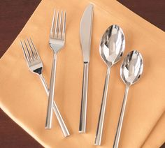 Shop Pottery Barn for silverware and flatware perfect for formal or casual dining. From traditional to modern, we have flatware to set the table in style. Copper Kitchen Utensils, Kitchen Knives, Kitchen Tools, Kitchen Things, Kitchen Supplies, Kitchen Stuff, Kitchen Appliances, Ceramic Tableware, Kitchenware