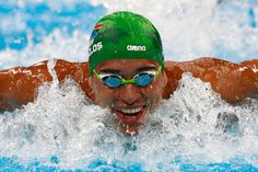 869fd78b1b0 Chad le Clos of South Africa competes Men s 100m Butterfly heat on Day 6 of  the
