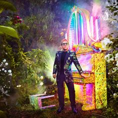 Elton John Just Announced His Farewell Tour and, Yes, He's Going to Wear Glittery Gucci!