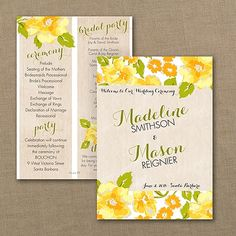 15 best yellow wedding invitations images on pinterest yellow