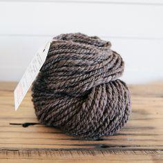 Bulky Handspun Alpaca, Charcoal — Camellia Fiber Company