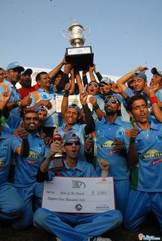 Sheer for Indian Blind Cricket Team.  Who defeated Pakistan by 29 runs to win the final of World T20 for blind being played in Bangalore, India.