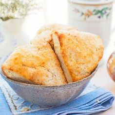 Buttery, tender, moist & oh-so-tempting, these sour cream scones are perfect for breakfast, brunch, tea time, or snack time.