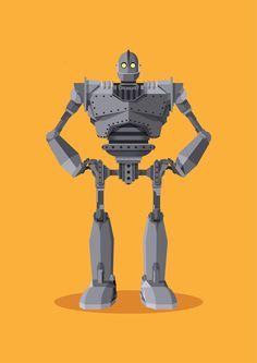 The Iron Giant by Olly Gibbs