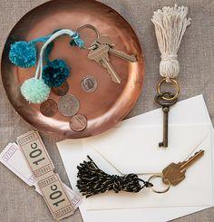 Ideal para decorar llaves