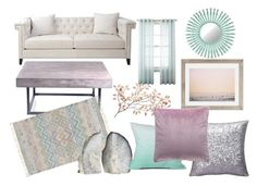 Kayla's Living Room Demo by slizausaba on Polyvore featuring interior, interiors, interior design, home, home decor, interior decorating, Urbia, Surya, Urban Outfitters and Royal Velvet