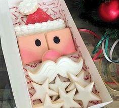 Christmas Stars, Christmas Ornaments, Holiday Decor, Desserts, Tailgate Desserts, Deserts, Christmas Jewelry, Postres, Dessert