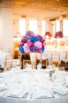 Photography: W Studios New York - www.wstudiosnewyork.com  Read More: http://www.stylemepretty.com/2015/03/18/colorful-tribeca-rooftop-wedding/