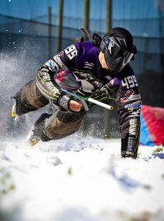 Paintball! Get going with one of the greatest tactical games of all time. It's even a great workout to boot!
