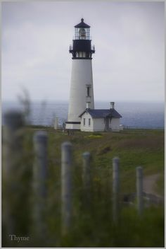 Yaquina Lighthouse in Newport, Oregon-- to visit every light house on the west coast!