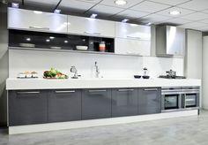 cocinas modernas blancas - Buscar con Google