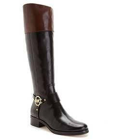 Next on my want list. MICHAEL Michael Kors Shoes, Fulton Harness Boots - Boots - Shoes - Macy's