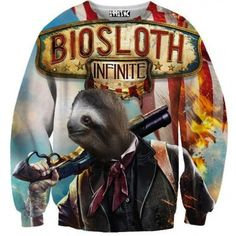 ☮♡ Biosloth Infinite Sweater ✞☆ Awesome website for amazing sweaters, leggings, tank tops and onsies :)