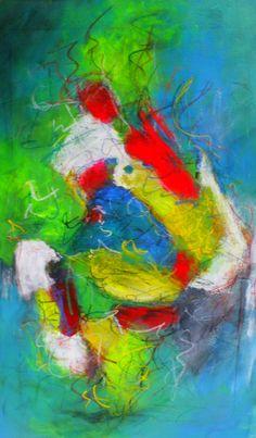 """Abstrakes Bild in Acryl """"Seit Du da bist, sind alle Lichter an"""" Abstract, Artwork, Painting, Abstract Pictures, Painting Abstract, Lights, Summary, Work Of Art, Auguste Rodin Artwork"""