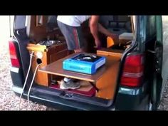 ▶ MERCEDES VITO CAMPER JC - YouTube lots of shuffling around but nicely done and thought out.