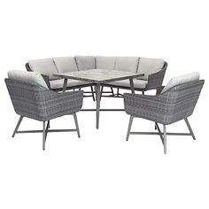 Hervorragend Buy KETTLER LaMode 5 Seater Lounging Corner Set, Grey Online At  Johnlewis.com