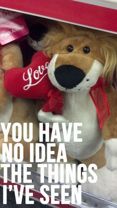 What Those Valentine's Day Stuffed Animals Are Really Thinking