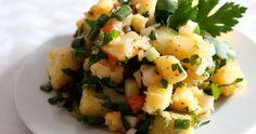 Türkischer Kartoffelsalat - Patates Salatası