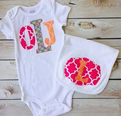 A personal favorite from my Etsy shop https://www.etsy.com/listing/226247015/sweet-sprouts-girls-custom-monogram
