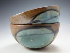 Salt Fired Soup Bowl by Marissa Domanski.