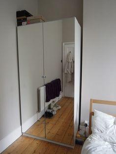 looking for 6 to 8 of these to 16 doors) Pax Closet, Closet Bedroom, Home Bedroom, Master Bedrooms, Ikea Storage, Storage Hacks, Bedroom Storage, Double Wardrobe, Built In Wardrobe