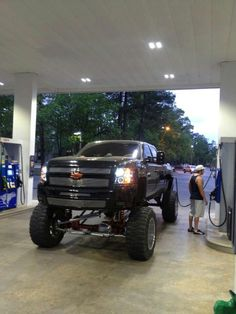 Nice lifted truck