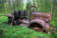 Photo Gallery: Abandoned Cars and Trucks Vintage Trucks, Old Trucks, Pickup Trucks, Lifted Trucks, Abandoned Cars, Abandoned Vehicles, Automobile, Rust In Peace, Train Truck