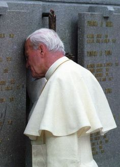 This man once our Pope , now our Saint truly carried the weight of the world on his shoulders. DP.   (Lorenzago (Italia) 1988)