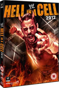 #WWE DVD Hell in a Cell 2012 Autographed by CM Punk