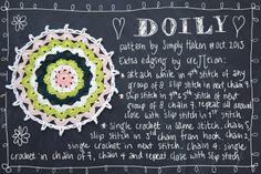 Spring Doily Pattern by creJJtion